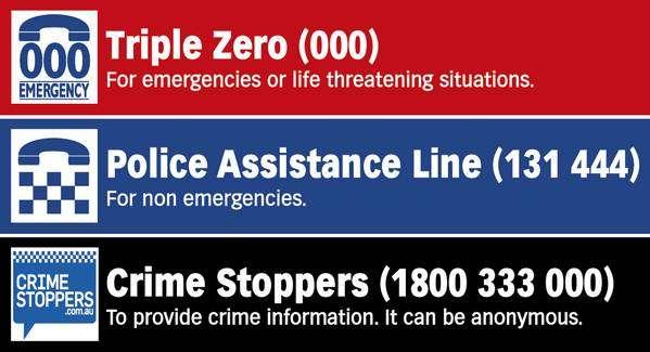 在澳洲怎么报警?