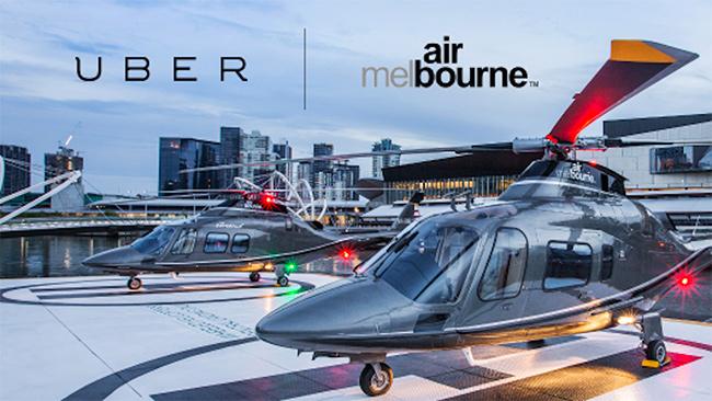 Uber计划推行出租直升飞机,上班打飞机成真